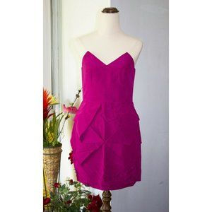 SALE Rodeo Show Sydney Strapless Tube Dress Size 8 Magenta Cocktail Party